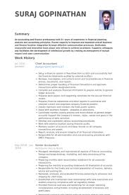 chief accountant resume samples visualcv resume samples database