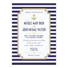 Nautical Wedding Programs Nautical Wedding Gifts On Zazzle