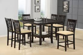 dining room table with wine rack counter height gathering table with wine rack by hillsdale wolf