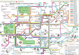 London Maps Maps Update 16001127 Tourist Attractions In London Map U2013 London