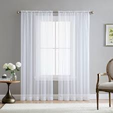 84 Inch Curtains Hlc Me White 54 Inch X 84 Inch Sheer Curtains Window