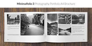Photography Portfolio Minimalfolio 2 Photography Portfolio A4 Brochure By Madhamsterlab