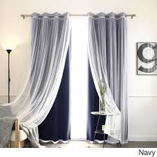 Sheer Panel Curtains Sheer Curtains For Less Overstock