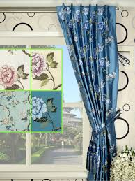 Dupioni Silk Drapes Discount Halo Embroidered Peony Concealed Tab Top Dupioni Silk Curtain