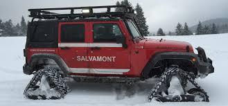jeep snow tracks jeep wrangler acf track