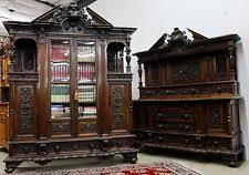 French Antique Bookcase Walnut French Antique Bookcases Ebay