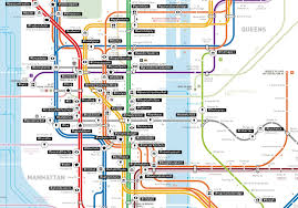 Subway Nyc Map Mapping Nyc Subway Stops According To Their Most Popular Instagram