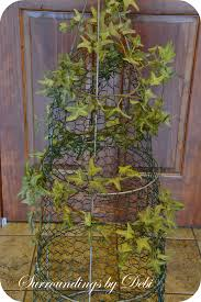 Front Porch Topiary Create A Tomato Cage Topiary Surroundings By Debi