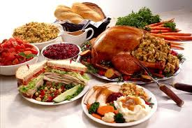 five thanksgiving buffet foods that nothing to do with