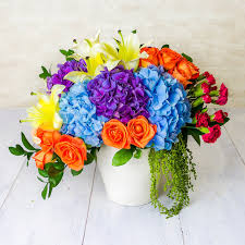 congratulations flowers mixed flowers delivery malaysia fa104153 mixed hydrangeas