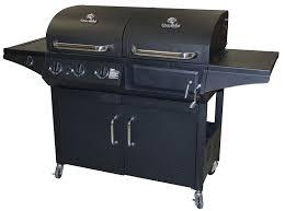 sears sears ca char broil combination charcoal u0026 gas bbq 360
