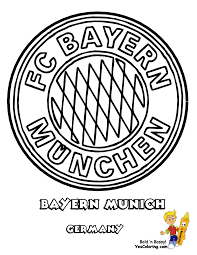 bayern munich soccer colouring pagesfree coloring pages for kids
