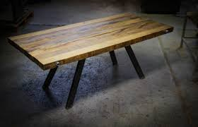 animate your dining space with this striking reclaimed beechwood