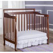 Convertible Mini Cribs On Me 4 In 1 Portable Convertible Mini Crib Espresso