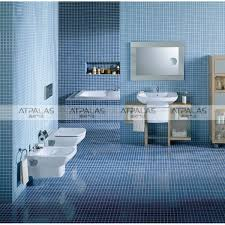epic blue and white bathroom floor tile about interior home