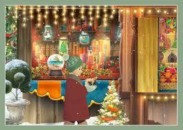 amazon com jacquie lawson christmas market advent calendar
