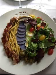 restaurant cuisine nicoise duet salad nicoise picture of duet restaurant york city