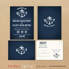 nautical wedding invitations anchor wedding invitations plumegiant