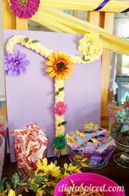 Birthday Favor Ideas by Rapunzel Birthday Ideas Diy Inspired