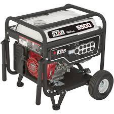 northstar portable generator u2014 5500 surge watts 4500 rated watts