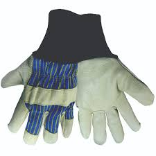 gloves leather palm