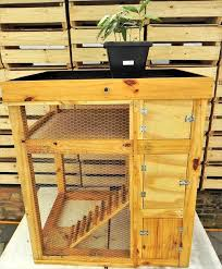 Rabbit Hutch Wood Upcycled Pallet Rabbit Hutch Pallet Furniture