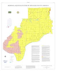 Raccoon Creek State Park Map by Dnr Aquifer Systems Maps 27 A And 27 B Unconsolidated And