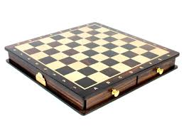 Chess Table Magnetic Chess Set Pieces Rose Wood Galaxy Staunton King Size 3
