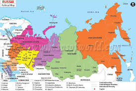 russia map after division map of russia