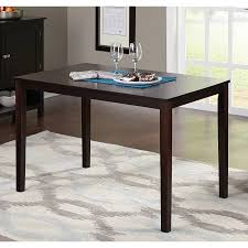 Espresso Dining Room Furniture Contemporary Dining Table Espresso Walmart Com