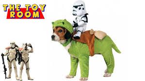halloween dog toys star wars sandtrooper u0026 dewback dog halloween costume unboxing