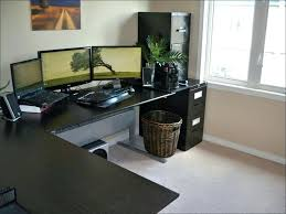 l shaped gaming computer desk l shaped gaming desk shaped desk gaming best of a cool gaming desk
