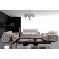 White And Black Sofa Set by Divani Casa Modern Unique Sofa Designs