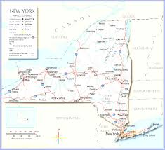 New York Map State by New York State Maps And Map Of State Ny Evenakliyat Biz
