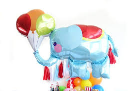 circus balloon circus elephant balloon oh shiny paper co