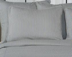 ticking stripe duvet covers bedding u0026 shower by southerntickingco