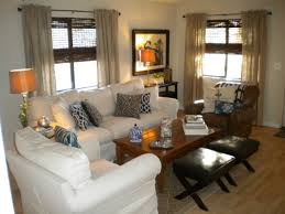 Simple  Coastal Themed Living Room Decorating Design Of - Casual decorating ideas living rooms