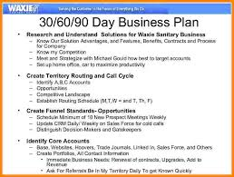 30 60 90 day business plan sales