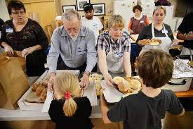 community thanksgiving dinner carves out new venue community