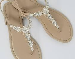 wedding shoes sandals bridal sandals etsy
