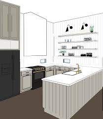 shiplap kitchen backsplash with cabinets kitchen renovation part i the identité collective