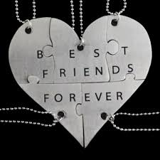 best friends puzzle necklace images Bijoux de lou stainless steel best friends forever 5 piece jpg