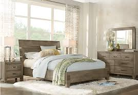 7 Piece Bedroom Set Queen Crestwood Creek Gray 5 Pc Queen Panel Bedroom Bedroom Sets Colors