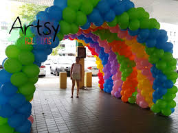balloon arches 6 balloon arches for lovorth events singapore balloon