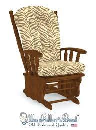 wood glider rocker replacement cushions wooden glider rocker