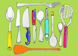 modern kitchen utensils kitchen tools drawing crowdbuild for