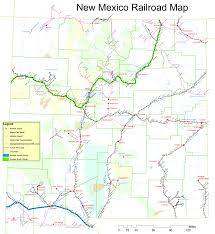 Illinois Railroad Map by New Mexico Railroad Map