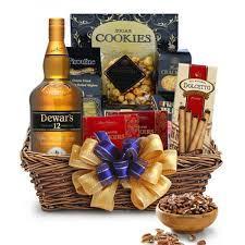 scotch gift basket definitely delectable dewar s dewar s scotch gift basket