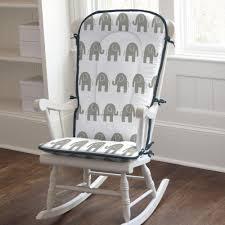 Rocking Mini Crib by Navy And Gray Elephants Rocking Chair Pad Carousel Designs