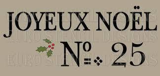 merry christmas stencil free printable